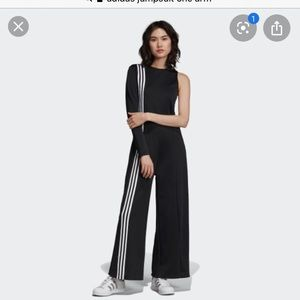 Addidas Off The Shoulder Jumpsuit